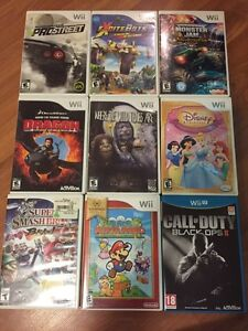 Wii and WiiU games Peterborough Peterborough Area image 1