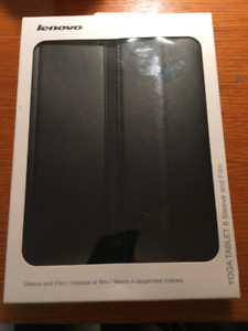 Lenovo Yoga Tablet 8 Sleeve and Film - NEW