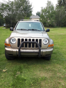 2005 JEEP LIBERTY RENEGADE (LOW KM)