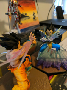 Goku vegeta Dragonball Z figure collectible statue