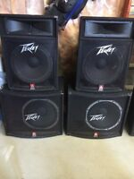 PA speakers and mixer ! Cheap prices, Make an Offer