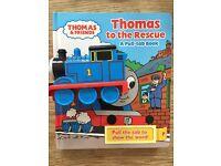Thomas the tank book,train set