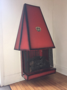 Vintage NorGlo Electric Fireplace