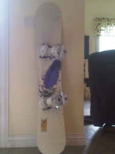 Nidecker Divine Snowboard plus boots and bindings