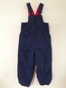 Snow pants with a bib, 3Y