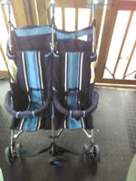 Double stroller side by side good condition