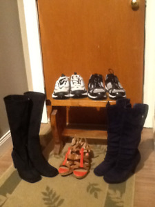 Men's Shoes and ladies boots