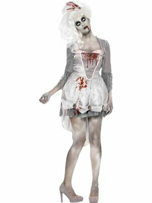 Womens Zombie Georgian Renaissance Halloween Fancy Dress Costume - Womens Zombie Halloween Kostüme