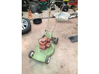 Spares and repairs lawnmowers project barn find