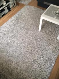 Non slip shaggy rug