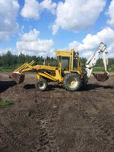 530 CASE BACKHOE with EXTENDA BOOM
