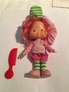 Vintage Strawberry Shortcake Raspberry Tart doll from 1980's
