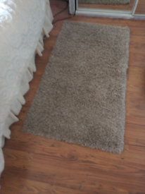 Rugs two natural shade deep pile