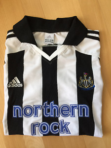 [Authentic] Newcastle United Home Kit 2003-05 - Size L