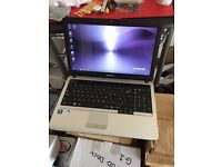 Samsung S3510 laptop 15.6 inch screen 500gb hd 3gb ram with webcam