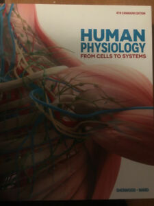 Human Physiology from cells to systems SHERWOOD/WARD FOR SALE