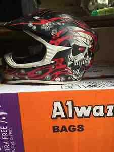 ATV/dirt bike helmets/youth chest protector