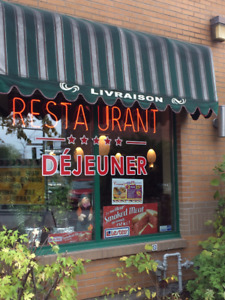 Restaurant for sale, 1 million income and more