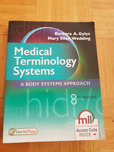 Medical Terminology Systems 8th edition  texbook (perfect condit