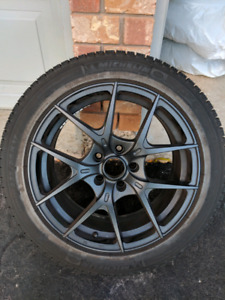"""17"""" Snow Tires - Michelin X-ICE XI3 with Rims"""