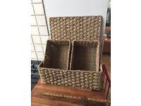 Lovely Wicker Style Basket Set