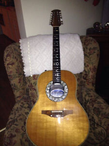Vintage Ovation Custom Balladeer Acoustic/Electric 12 string gui