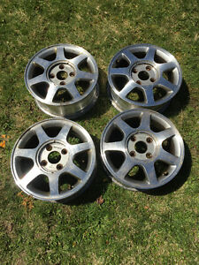 "15"" rims from 95 Honda Accord for sale (4 bolt)"