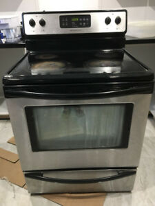 Refrigerator, Dish washer, Electric stove and Thermostat