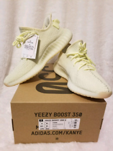 Brand new Adidas Yeezy Boost V2 butter size 8.5 and 9