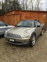 2008 Mini Cooper 6 speed stand leather loaded