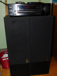 Kenwood KR-A5040 Receiver with 4 speakers asking $150