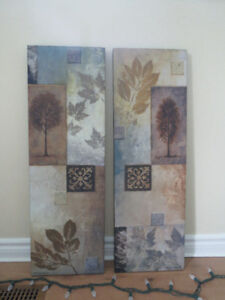 2 Nature Canvas Paintings