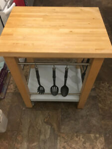 IKEA Kitchen Cart with Wheels