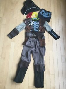 Costume - Pirate Child size 5-6