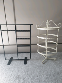 Two new jewellery stands