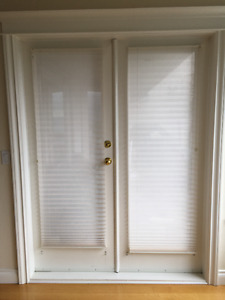 Pleated blinds for windows and doors SUPER DEAL!