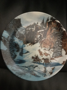 Bradford Plates - Trail of the Talisman and The Bald Eagle