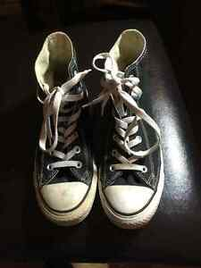 Black Converse All-Star Chuck Taylor Hi-Top Basketball Shoes Prince George British Columbia image 3
