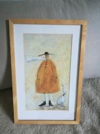 "Mr Mustard and the Dog and Duck Sam Toft Mini Print 35cm x 54cm (14"" x"