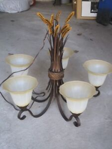 Chandelier from Log / Country House