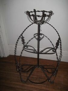 Twisted Steel Plant Stand