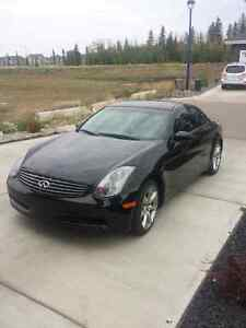 2004 G35 Coupe Black