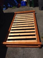 Twin bed frame great shape!