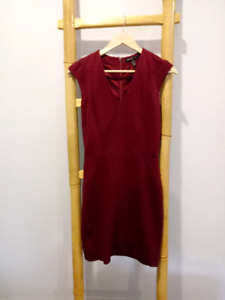 Mango Suit - Red suit dress (Eur S / US XS) Box Hill Whitehorse Area Preview