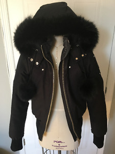 Womens Moose Knuckles Bomber Coat