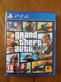 PS4 Game - Grand Theft Auto V