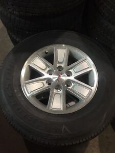 """GMC 17"""" Alloy Wheels and Tires """"NEW"""""""