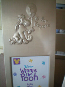 2 Eeyore themed Picture Frames