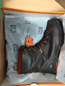 "Brand New Timberland PRO 8"" Steel Safety Work Boots Size 11"