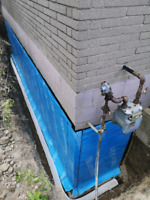 Hand Digging Basement Waterproofing and Concrete Removal